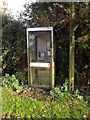 TM1681 : Telephone Box on Norwich Road by Adrian Cable