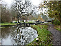 TL0506 : Lock 64, Grand Union Canal by Robin Webster