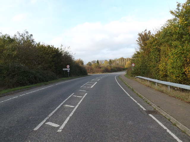 Entering Thelveton on Norwich Road, Thelveton