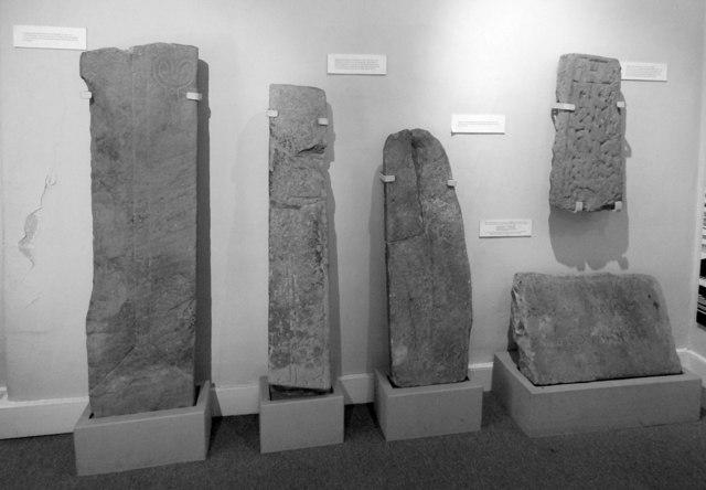 Dumbarton Castle: ancient stones