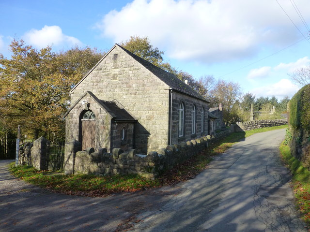 The old church at Nick i' th' Hill