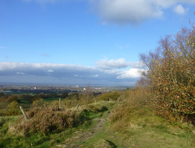 The Gritstone Trail at Nick i' th' Hill
