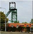 SJ3148 : Colliery Headgear, Bersham by nick macneill