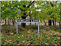 TM1680 : Norgate Lane sign by Adrian Cable