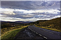 NH1804 : Looking NNE on the A87 by Peter Moore
