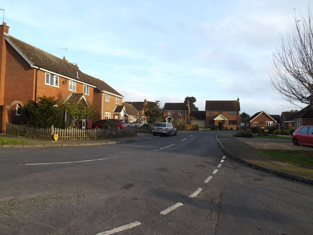 Robinson Road Scole by Geographer