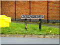 TM1478 : Robinson Road sign by Adrian Cable