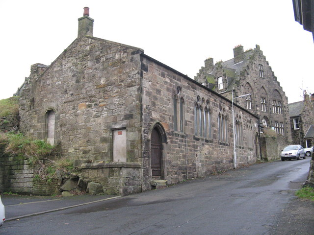 Old WW1 Drill Hall on East Leven Street
