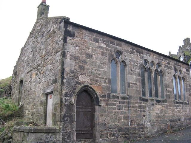 Burntisland Pipe Band Hall windows