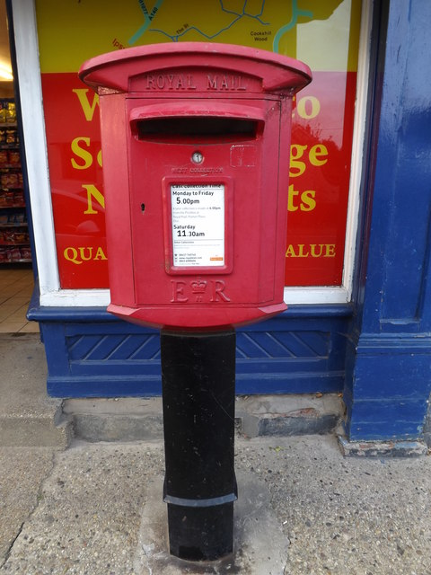 Post Office Norwich Road Postbox by Geographer