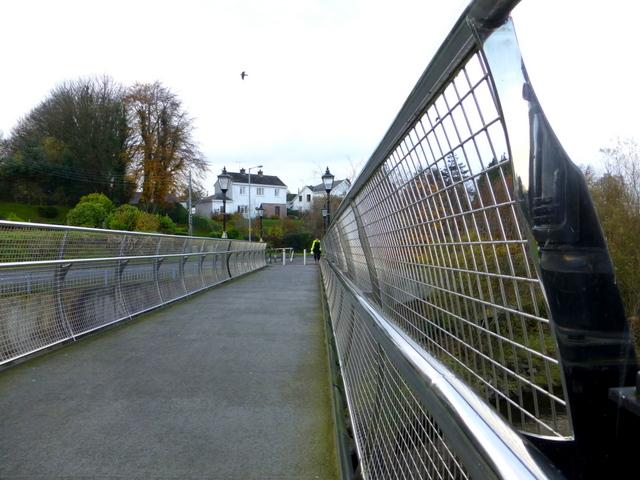 Footbridge across the Drumragh River