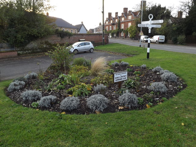Scole & District Gardening Club Display by Geographer