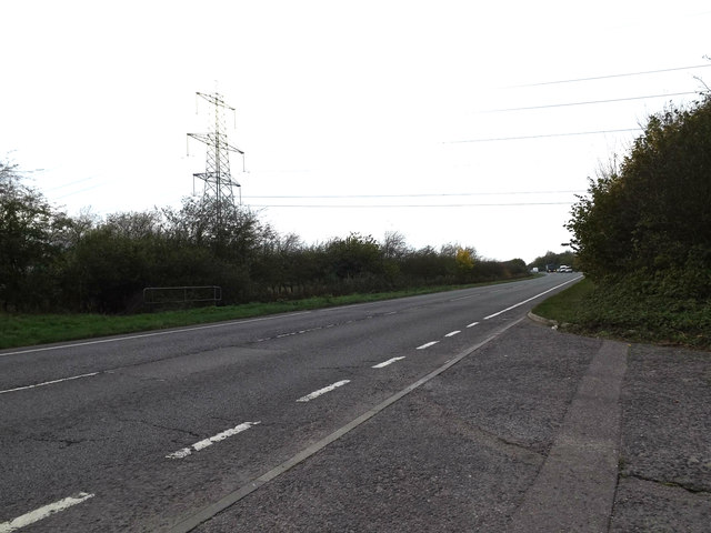 A143 Old Bury Road, Stuston by Geographer
