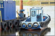 "J3473 : The ""Cranagh Star"", River Lagan, Belfast - November 2014(3) by Albert Bridge"