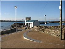 C8540 : Babushka coffee shop Portrush harbour by Willie Duffin