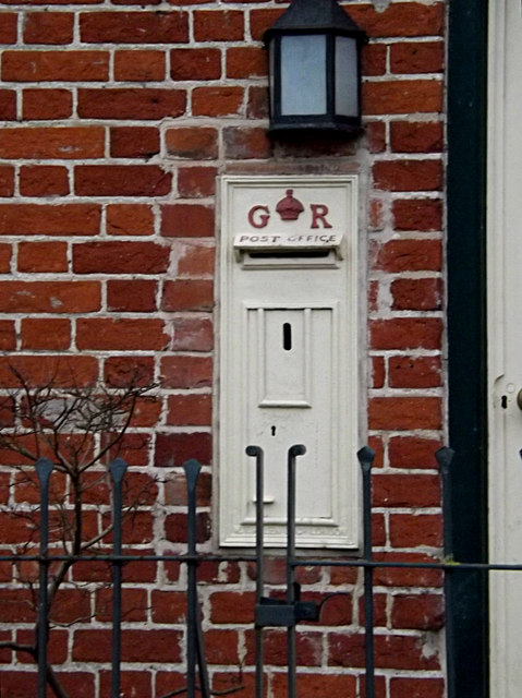 Former George V Postbox at the Old Post Office