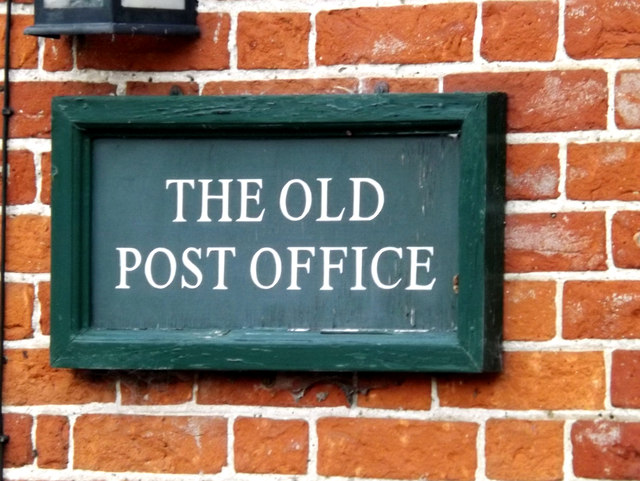 The Old Post Office sign