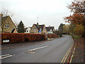 SP1720 : North on Roman Way, Bourton-on-the-Water by Robin Stott