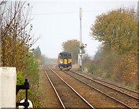 TF2643 : Passing  Hubberts Bridge Down Home signal by Alan Murray-Rust