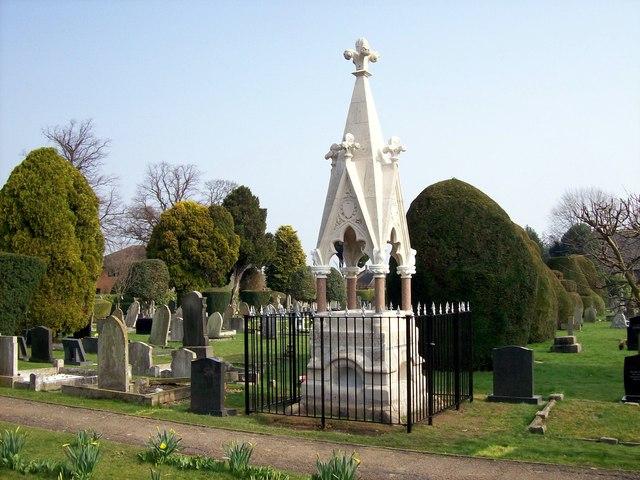 The Ostler memorial, Bourne, Lincolnshire
