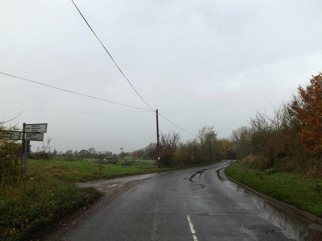 B1117 Rowe's Hill,  Laxfield