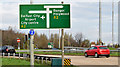 J3876 : Direction sign, Tillysburn, Belfast (November 2014) by Albert Bridge