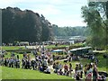 SP4415 : Blenheim Horse Trials: crowds on the cross-country course by Jonathan Hutchins