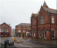 SK3871 : St Mary's Gate, Chesterfield, Derbys. by David Hallam-Jones