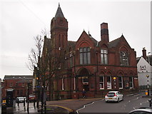 SK3871 : St Mary's Gate/Corporation Street Junction, Chesterfield, Derbys. by David Hallam-Jones