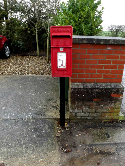 Waterloo Lane Postbox by Geographer