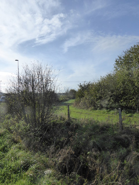 Strip of land beside the A303 at Cartgate