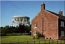 SJ7971 : Telescope, Jodrell Bank by Stephen Richards