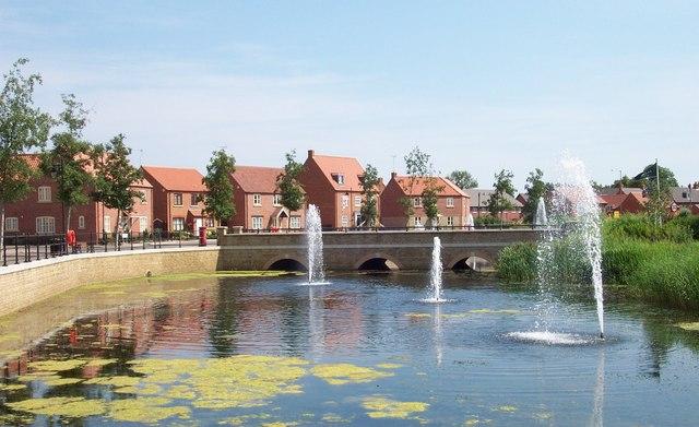 Elsea Park estate, Bourne, Lincolnshire