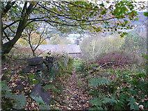 SD9927 : Hebden Royd FP14 approaching Sandy Gate by Humphrey Bolton