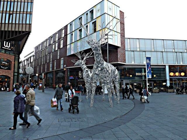 Reindeers in Liverpool 1