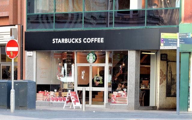 """New """"Starbucks"""", Belfast (November 2014)"""