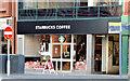 """J3374 : New """"Starbucks"""", Belfast (November 2014) by Albert Bridge"""