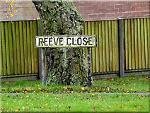 TM1579 : Reeve Close sign by Adrian Cable