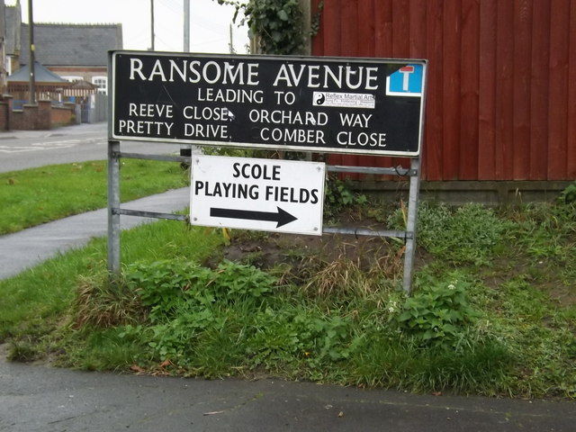 Ransome Avenue sign