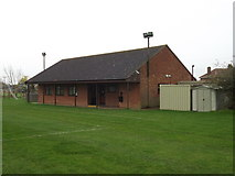 TM1579 : Scole United Football Club building by Adrian Cable