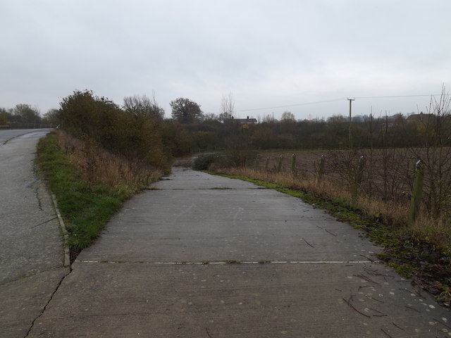 Bridleway to the A140 Scole Bypass