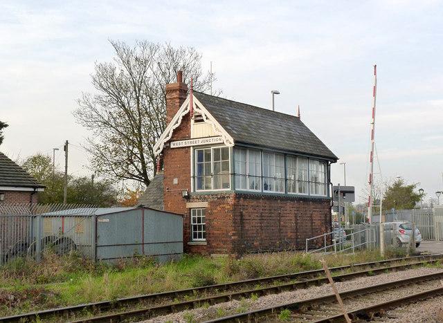 West Street Junction signal box