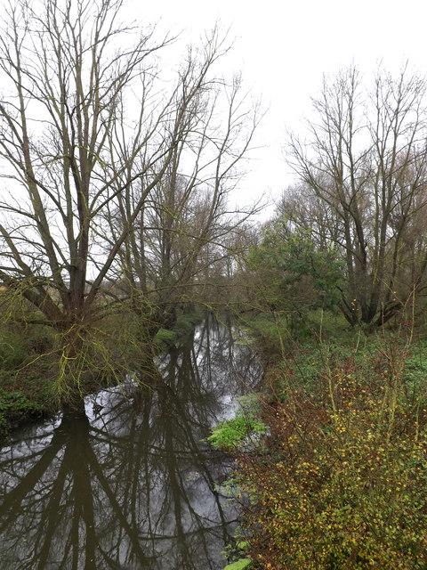 River Waveney off Scole Bridge by Geographer