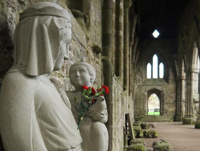 Virgin and Child Tintern Abbey