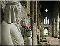 ST5399 : Virgin and Child Tintern Abbey by Nigel Mykura