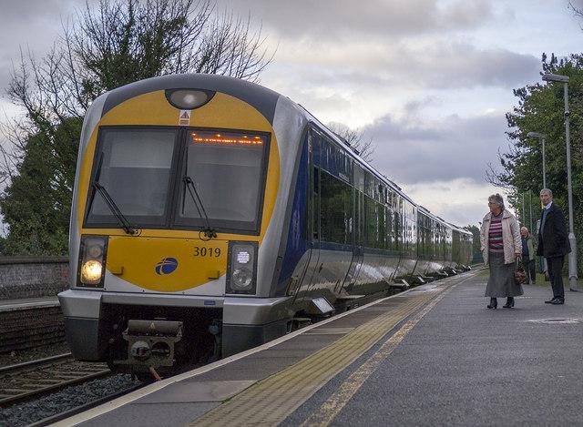 Train, Carnalea Station