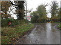 TM1480 : Burston Road & The Rectory Postbox by Adrian Cable