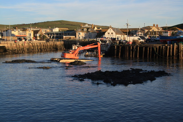 Dredging West Bay  Inner Harbour