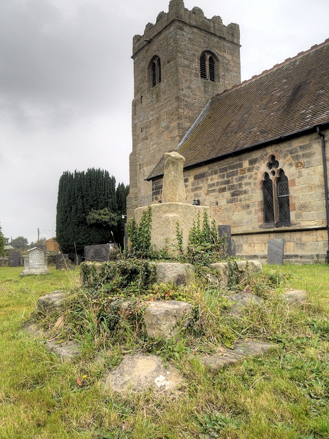 Remains of Old Stone Cross, St James' Churchyard