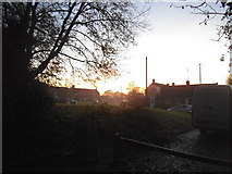 TQ1665 : Sunset over Bankside Drive by David Howard